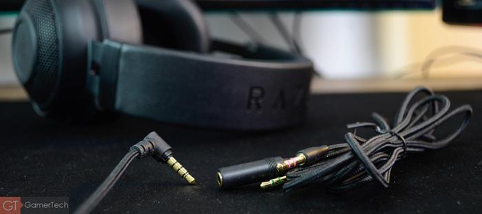 Rallonge avec adaptateur 3.5mm pour casque gamer