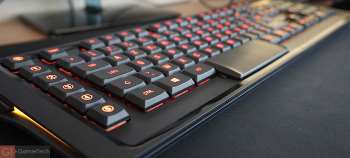 Clavier gaming avec touches programmables