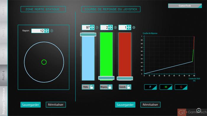 Ajustement sensibilité des joysticks PS4