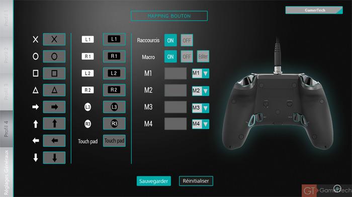 Modifier le mapping de ses boutons sur sa manette PS4
