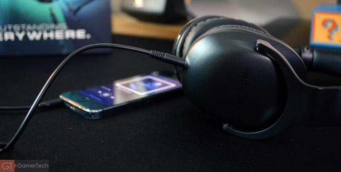 Casque gaming pouvant également être utilisé pour écouter la musique sur smartphone