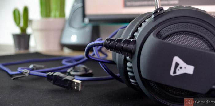 Casque gamer USB pas cher