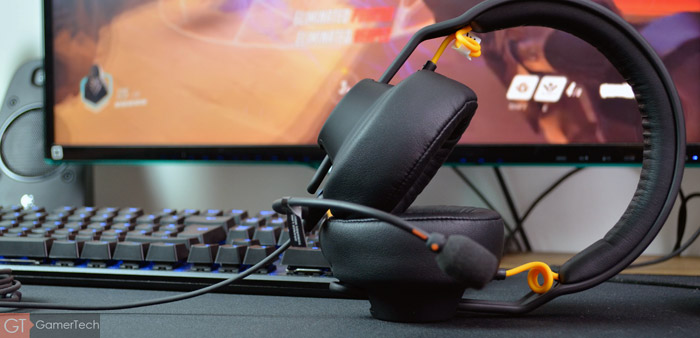 Micro-casque gaming polyvalent et modulaire