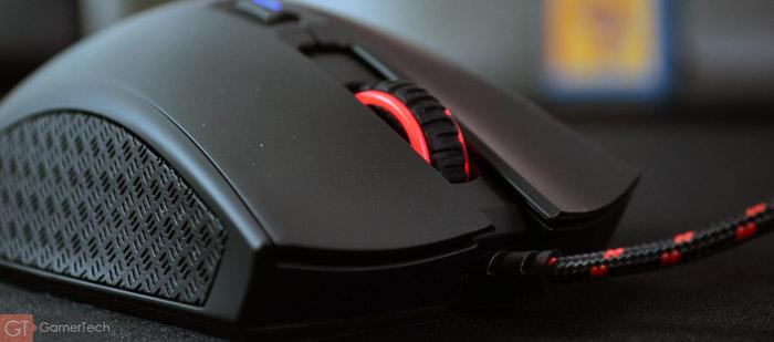 Zoom sur la molette de l'HyperX Pulsefire