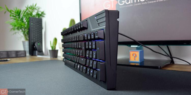 Le clavier de Cooler Master est particulièrement compact