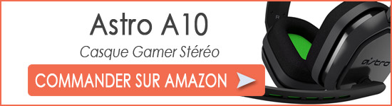 Commander Astro A10 pas cher
