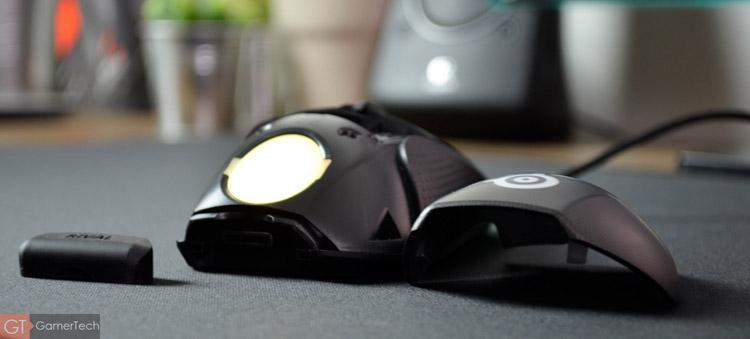 Il est possible de remplacer la coque de la souris