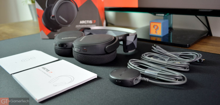 Unboxing du SteelSeries Arctis 7