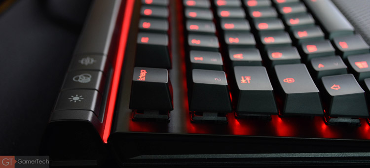 Le clavier dispose d'un mode gaming désactivant la touche Windows