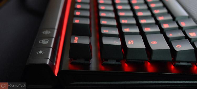 Le clavier dispose d'un mode gaming désactivant la touche Windows