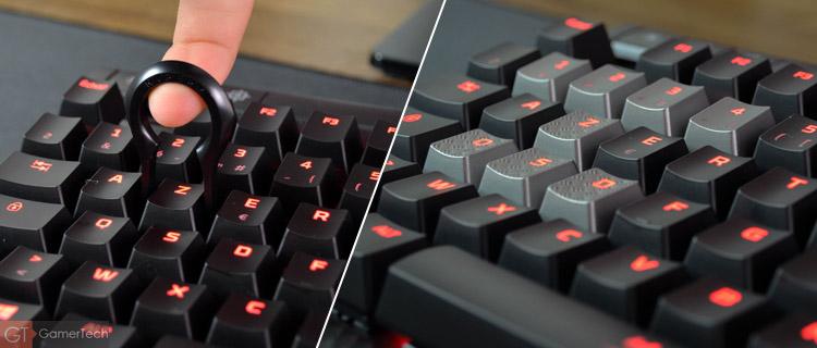 Keycaps pour touches ZQSD