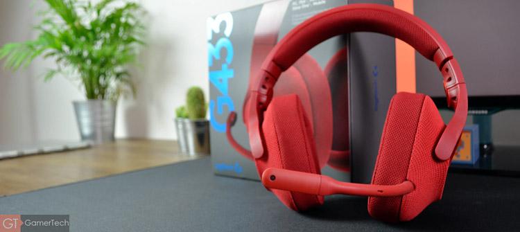 Logitech G433, un casque gamer filaire haut en couleurs