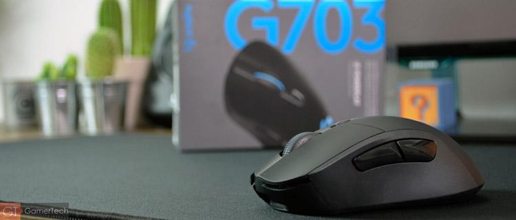 Logitech G703, une souris sans-fil compatible PowerPlay