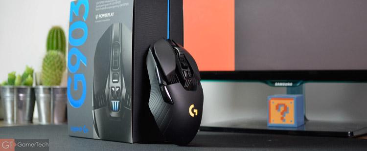 Logitech G903, la meilleure souris sans-fil pour le jeu