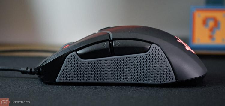 La souris dispose de 2 boutons en façade