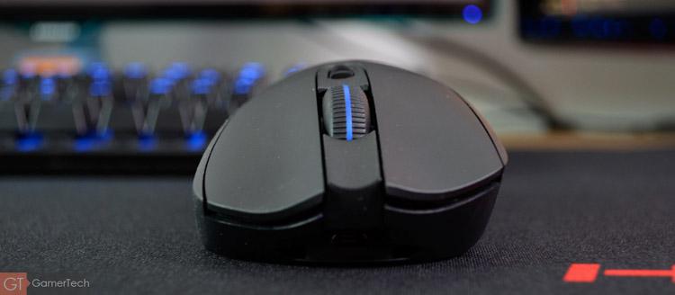 Souris gaming qui fonctionne avec ou sans-fil