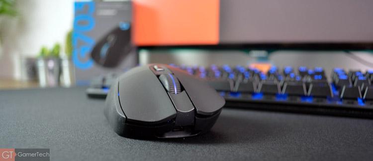 La G703 est l'une des souris gaming les plus abordable