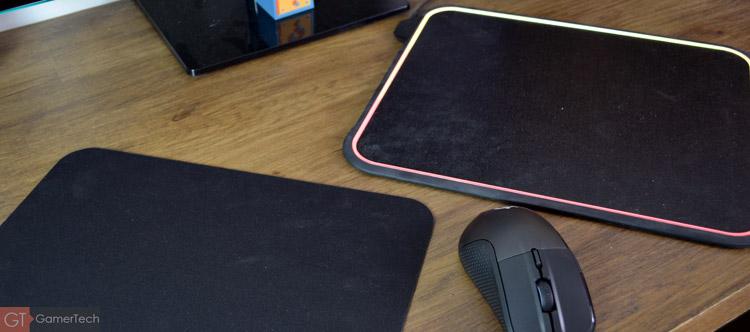 Tapis de souris avec double surface