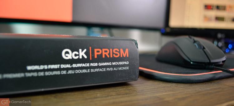 Unboxing et présentation du SteelSeries QcK Prism RGB