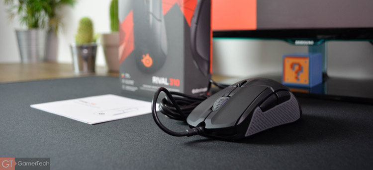 Unboxing de la souris SteelSeries Rival 310