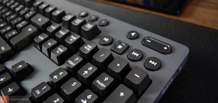 Le clavier dispose de touches multimedias