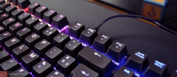 Touches multimédia sur clavier gaming