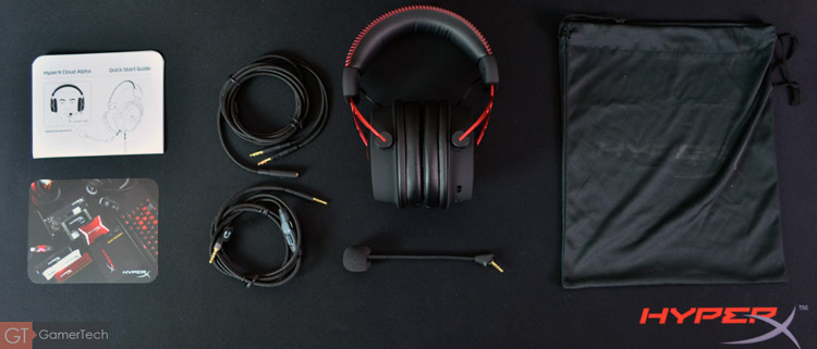 Unboxing casque HyperX Cloud Alpha