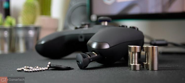 Manette PS4 avec poids ajustable