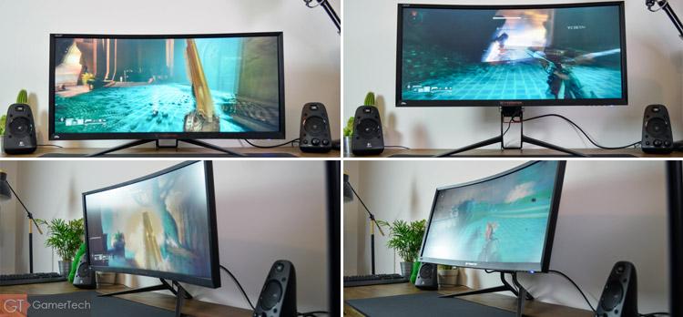 Ajustement de l'écran et du pied