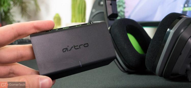 Le boitier pour la connexion sans-fil du casque gaming