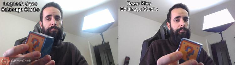 Webcam Logitech ou Razer Kiyo ?