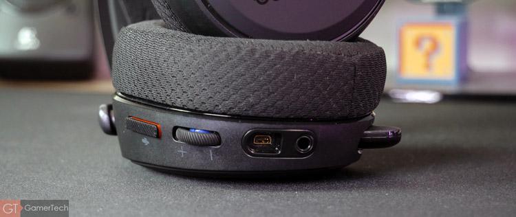 Connectique du SteelSeries Arctis Pro Wireless
