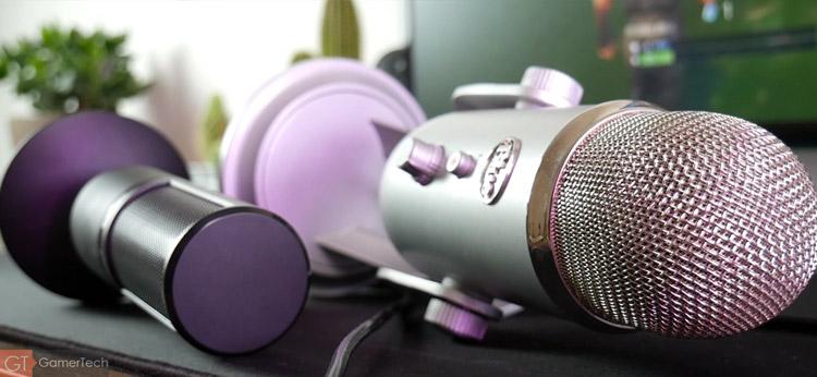 Microphone USB compact
