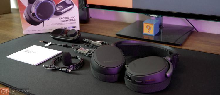 Unboxing du casque SteelSeries Arctis Pro