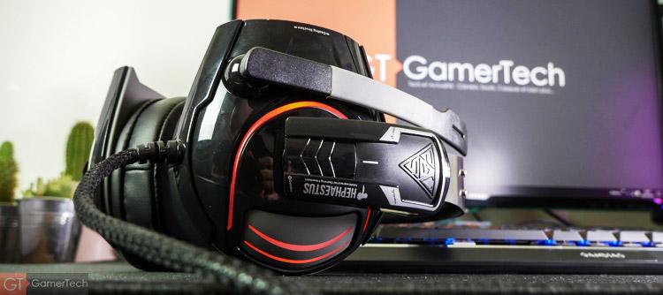 Micro-casque avec un look Gamer