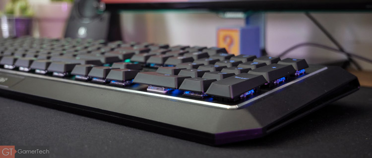 Clavier gaming low-profile