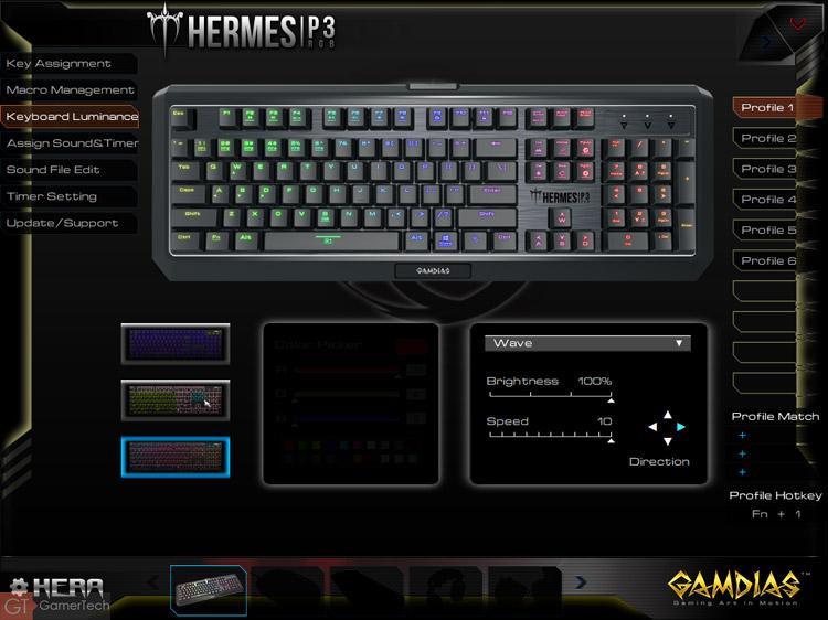 Le clavier intègre un rétroéclairage RGB