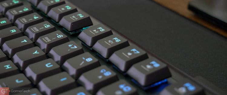 Raccourcis clavier depuis touche Fn