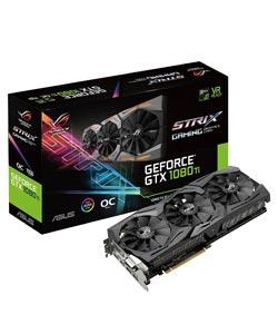 Meilleure carte graphique Nvidia - ASUS ROG Strix GTX 1080 Ti
