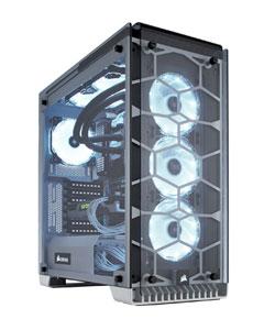 Boitier PC avec façade transparente