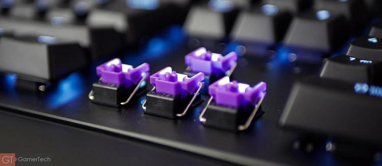 Le premier clavier Razer avec interruptuers opto-mecanique