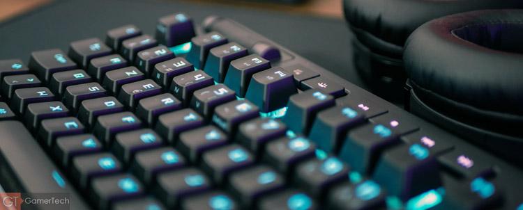 Raccourcis profils clavier gamer