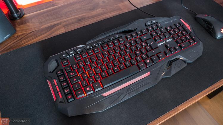 Design du clavier Elite-K20