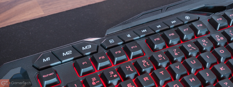 Profils et Macros sur le Spirit Of Gamer Elite-K20