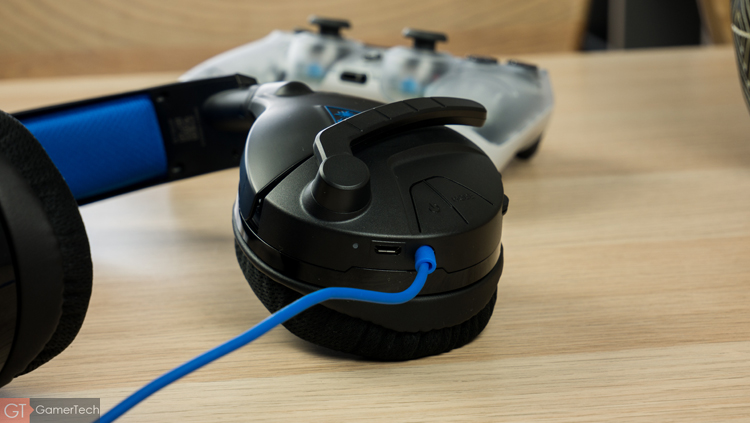 Casque gamer filaire pour Playstation 4