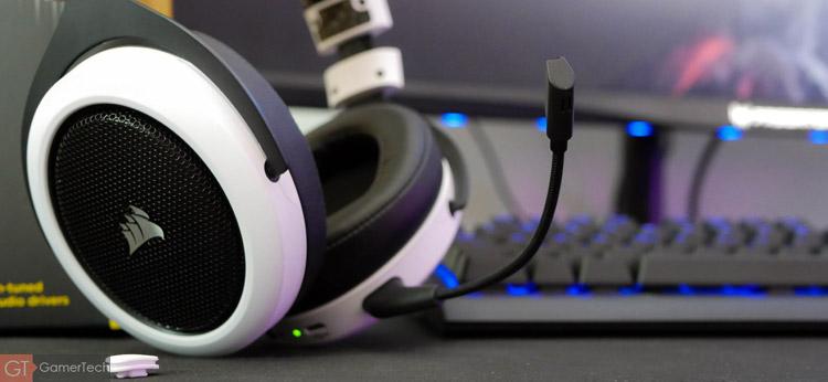 Casque gaming sans-fil avec microphone amovible