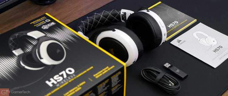 Unboxing du Corsair HS70 Wireless