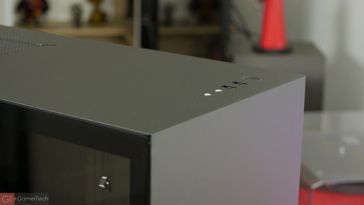 Front panel du NZXT h500