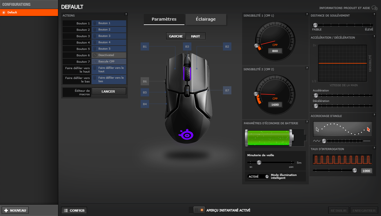 SteelSeries Engine Rival 650