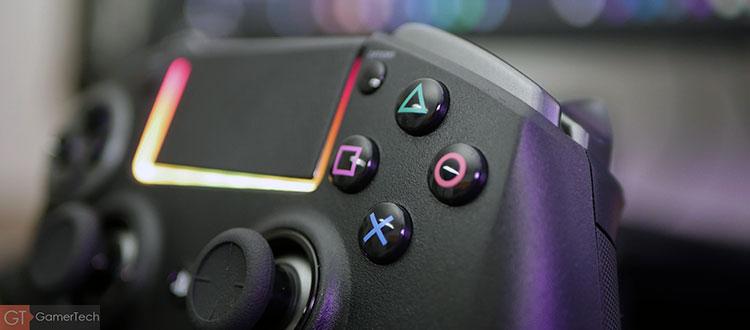 Des boutons plus précis que sur la DualShock 4
